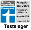 Testsieger Finanztest
